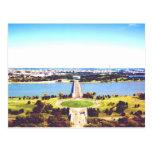 washington dc memorial bridge potomac river water post card