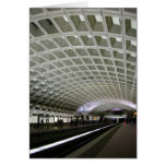 Washington DC Metro Greeting Card