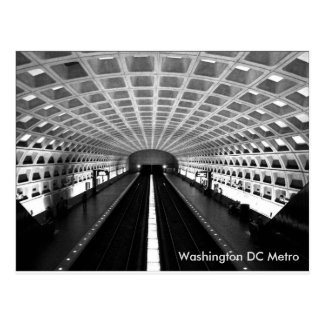 Washington DC Metro Postcard