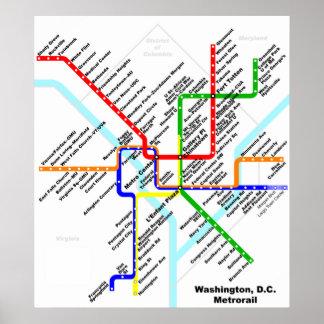 Washington dc metro Print