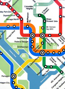 Washington Heights Subway Map.Metro Map Office School Supplies Zazzle