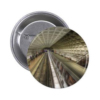 Washington DC Metro Train Station Pinback Button