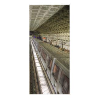 Washington DC Metro Train Station Rack Card