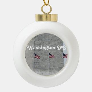Washington DC Monument Ornaments