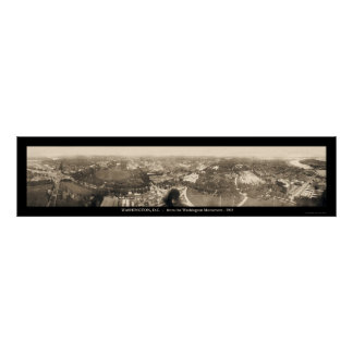 Washington DC Monument Photo 1905 Print
