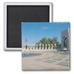 Washington, DC, monumento nacional de WWII Imán De Frigorífico