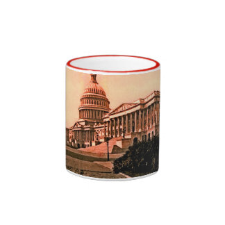 Washington DC Murica América 1900 del edificio del Taza A Dos Colores