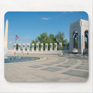 Washington, DC, National WWII Memorial Mouse Pad