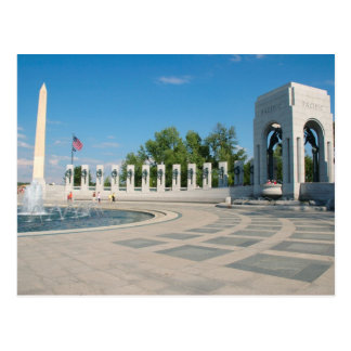 Washington, DC, National WWII Memorial Postcard