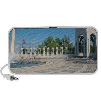 Washington, DC, National WWII Memorial Laptop Speakers
