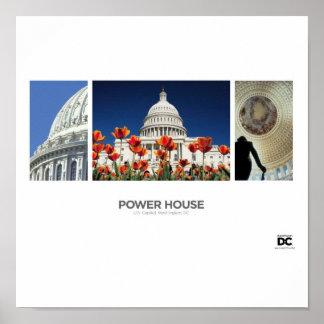 Washington, DC Power House Poster