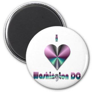 Washington DC -- Purple & Turquoise Magnets