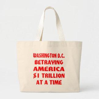 Washington DC que traiciona América 1 trillón en Bolsas