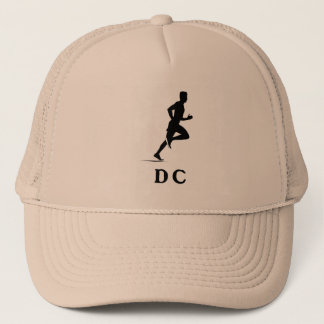 Washington DC Running Trucker Hat