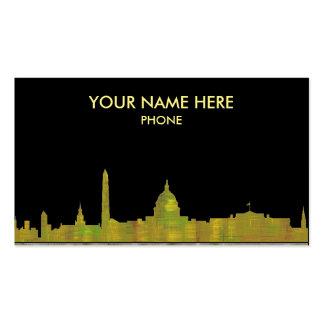 WASHINGTON DC SKYLINE - Business cards