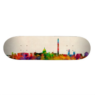 Washington DC Skyline Cityscape Skateboard Deck