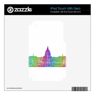 Washington DC skyline Decals For iPod Touch 4G