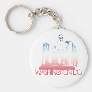 Washington DC Skyline Design Keychain