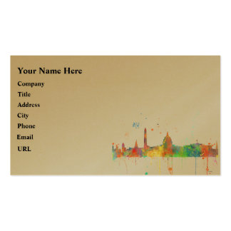 WASHINGTON DC SKYLINE Double-Sided STANDARD BUSINESS CARDS (Pack OF 100)