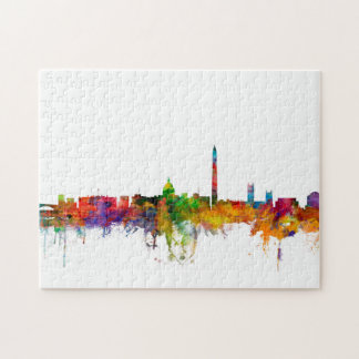 Washington DC Skyline Jigsaw Puzzle