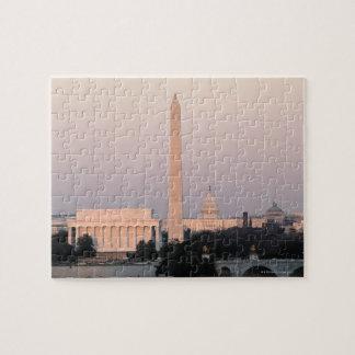 Washington, DC Skyline Jigsaw Puzzles