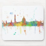WASHINGTON DC SKYLINE MOUSE PAD
