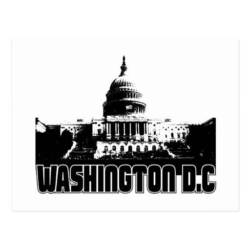 Washington DC Skyline Post Card