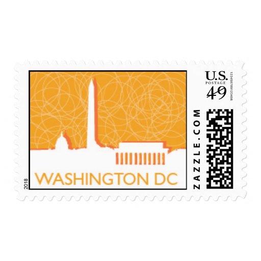 Washington DC Skyline Postage