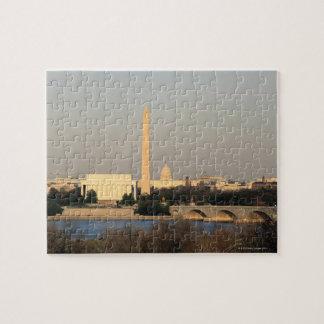 Washington DC Skyline Puzzle