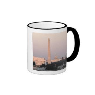 Washington, DC Skyline Ringer Mug