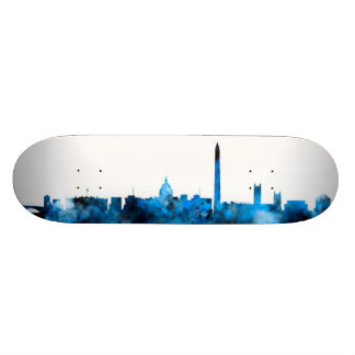 Washington DC Skyline Skateboard