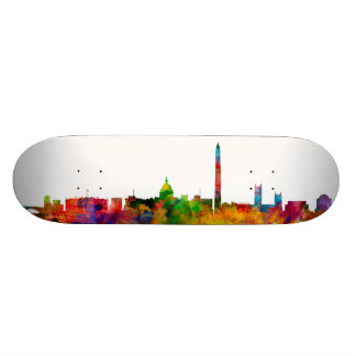 Washington DC Skyline Skateboard Deck