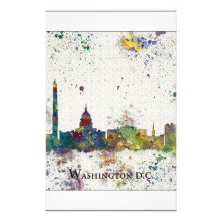 WASHINGTON DC skyline, Washington DC Print Stationery