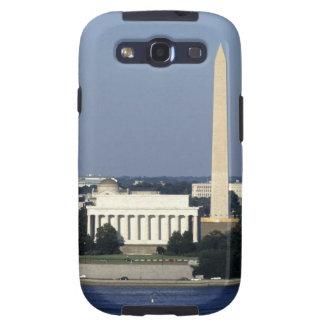 Washington DC Skyline with US Capitol Building 2 Galaxy SIII Covers