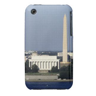 Washington DC Skyline with US Capitol Building 2 iPhone 3 Case