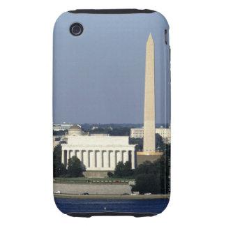 Washington DC Skyline with US Capitol Building 2 iPhone 3 Tough Case