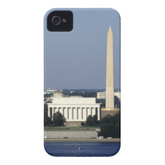 Washington DC Skyline with US Capitol Building 2 iPhone 4 Case-Mate Case