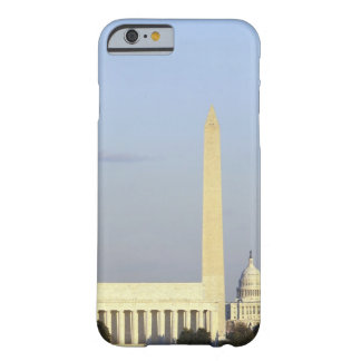Washington DC Skyline with US Capitol Building Barely There iPhone 6 Case
