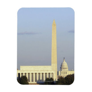 Washington DC Skyline with US Capitol Building Magnet