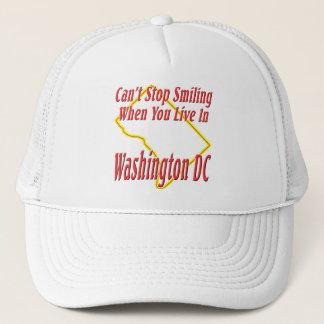 Washington DC - Smiling Trucker Hat