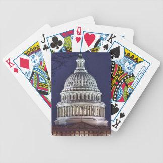 Washington DC state capital Bicycle Playing Cards