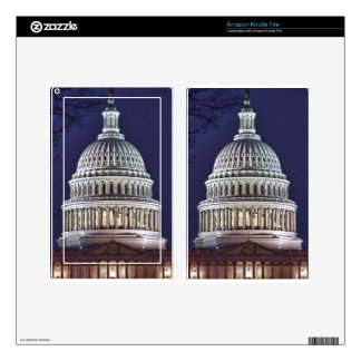 Washington DC state capital Kindle Fire Decals