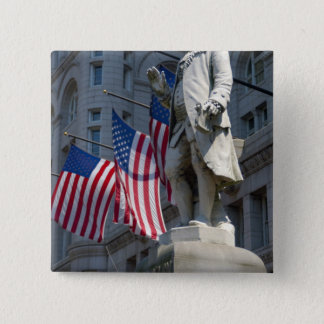Washington, DC, statue of Benjamin Franklin Button