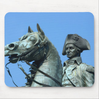 Washington, DC, statue of General George Mouse Pad