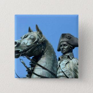 Washington, DC, statue of General George Pinback Button