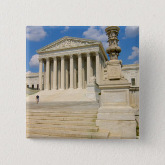 Washington, DC, Supreme Court Building Pinback Button