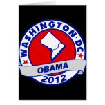Washington DC Tarjeta Pequeña