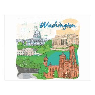 Washington DC Tarjeta Postal