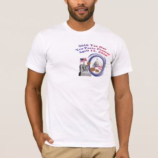 Washington, DC Tax Day Tea Party Protest T-Shirt