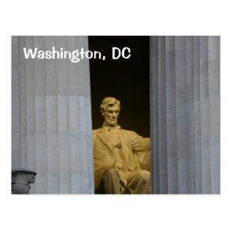 Washington, DC:  The Lincoln Memorial Postcard